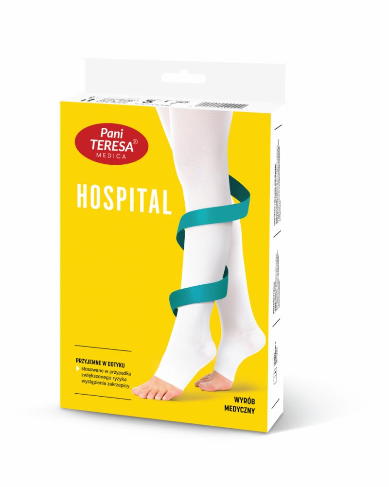 PANI TERESA HOSPITAL Pończochy okołooperacyjne samonośne - profilaktyczne