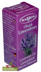 LAWENDOWY - naturalny olejek eteryczny Bamer 7 ml
