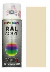 MOTIP lakier kość słoniowa farba połysk 400 ml akrylowy acryl szybkoschnący RAL 1015