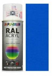 Motip lakier niebieski farba połysk 400 ml akrylowy acryl szybkoschnący RAL 5015