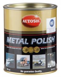 AUTOSOL pasta polerska metal polish do metalu, chromu, miedzi, niklu 750 ml