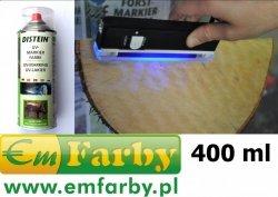 Distein lakier uv spray ultrafiolet znakowania drzewa części 400 ml