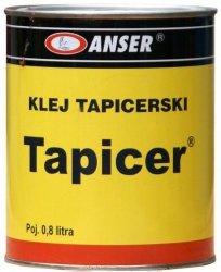 Klej tapicerski tkanina skóry ,skai ,alkantary gąbki podsufitki spray 0,8 l