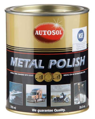 AUTOSOL pasta polerska metal polish do metalu, chromu, miedzi, niklu 750 ml