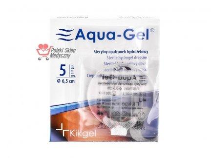 Opatrunek hydrożelowy śr. 6,5cm (okrągły) - Aqua-Gel