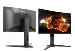 Monitor Gamingowy AOC C32G1 31,5'', panel  MVA Curved, 144Hz, HDMI/DP/D-SUB