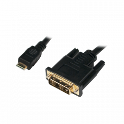LOGILINK - Kabel mini HDMI do DVI-D M/M,3m