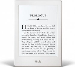Amazon Kindle Paperwhite 3 2015, 6'' HD E-ink, 4GB, WiFi sponsored,white