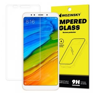 Wozinsky Tempered Glass szkło hartowane 9H Xiaomi Redmi 5 Plus / Redmi Note 5 (single camera) (opakowanie – koperta)