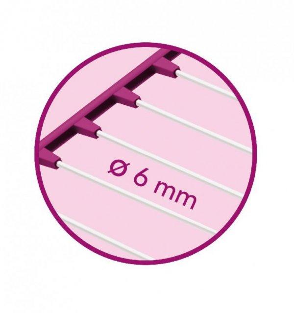 Suszarka pionowa Meliconi LOCK TW3 30 M różowa powystawowa
