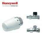 Zestaw Przyłączeniowy Prosty Honeywell do Grzejników Boczno Zasilanych