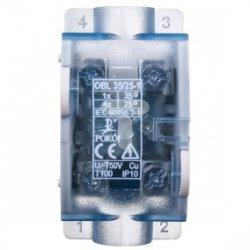 Odgałęźnik 1P 1x35mm2/4x25mm2 niebieski OBL 35/25-1 R35RW-01040000301