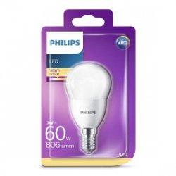 Żarówka LED 7W (60W) P45 E14 WW FR ND 1BC/6 2700K 806lm 929001325201