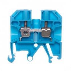 Złączka szynowa 2-przewodowa 2,5mm2 niebieska Ex SAK 2.5/EN BL 0218680000