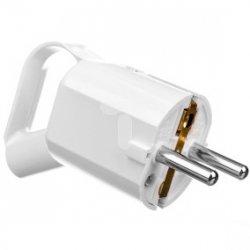 Wtyczka przenośna kątowa z uchem 16A 230V z/u W-1KU