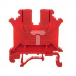 Złączka szynowa 1-torowa ZJU-6 czerwona R34RR-07010000331