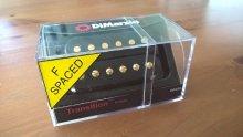 DiMarzio Transition Bridge F Spaced Black Gold
