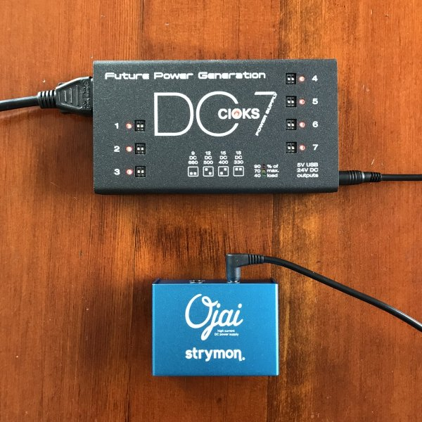 Cioks DC7 + Strymon Ojai Expansion Kit