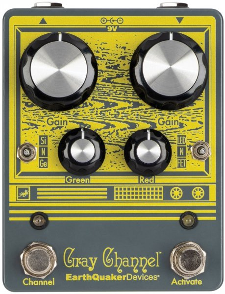 EarthQuaker Devices Gray Channel - Dynamic Dirt Doubler