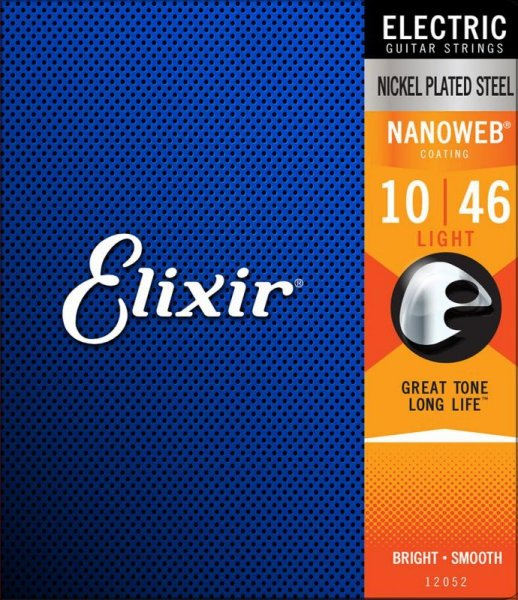 Elixir NanoWeb Light 10-46 3 Pack