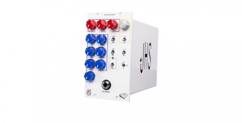 JHS Colour Box 500 - 500 Series Preamp / Fuzz Module