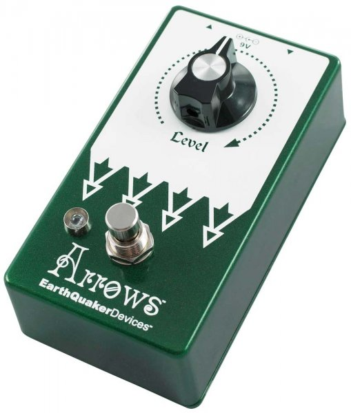 EarthQuaker Devices Arrows V2 - Pre-amp Booster