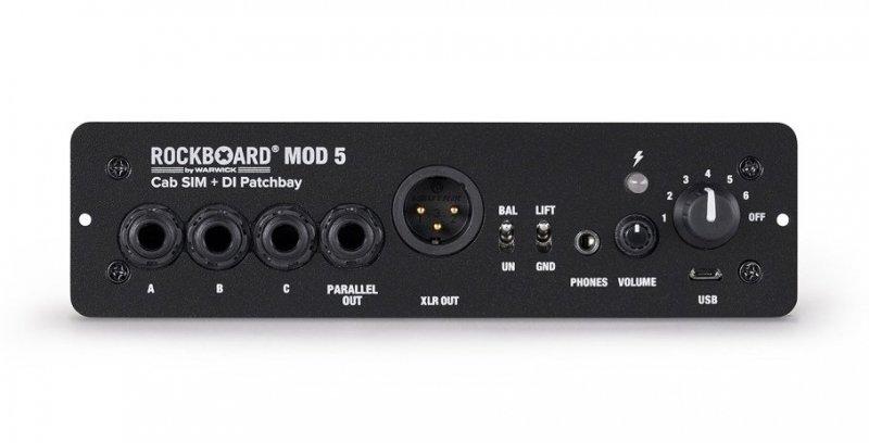 RockBoard MOD 5 - Cab SIM + DI Patchbay
