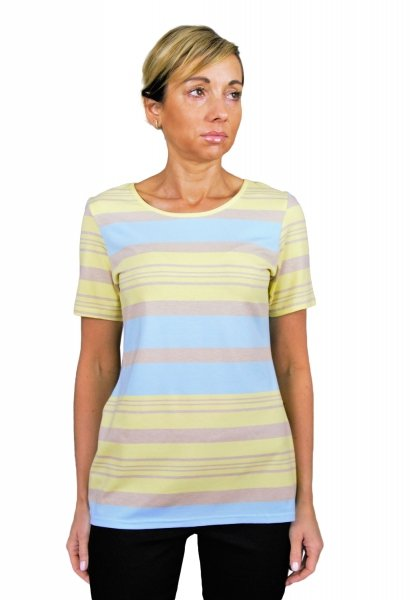 Bluzka w paski, t-shirt, Kreator Studio Mody, r.42