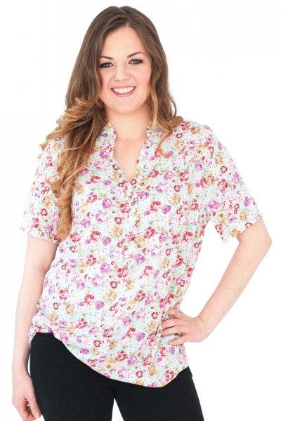 Koszula stójka, bluzka, Kreator Studio Mody, r42