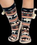 Buffalo Fair Isle Mukluk - Ponožky do bačkor - LazyOne