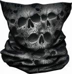 Twisted Skulls - Multifunctional Wraps Spiral