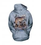 Wolf Family - The Mountain - Mikina z kapuci Junior