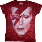 David Bowie Aladdin Sane - Liquid Blue Dámské