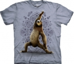 Warrior Sloth Yoga Grey - The Mountain