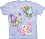 Butterfly Kitten Fairies - T-shirt The Mountain