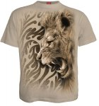 Tribal Lion Beige - Spiral