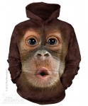 Big Face Baby Orangutan - Bluza The Mountain