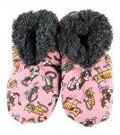 Cat Nap Fuzzy Feet - Papcie - LazyOne