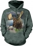 Monarch of The Forest Moose - Bluza The Mountain