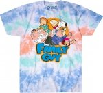 Family Guy Griffin Family Tussle - Liquid Blue