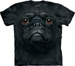 Black Pug Face Mops - T-shirt The Mountain