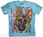 German Shepherd - T-shirt The Mountain