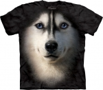 Siberian Husky Face - The Mountain