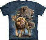 Lion Collage - Koszulka The Mountain