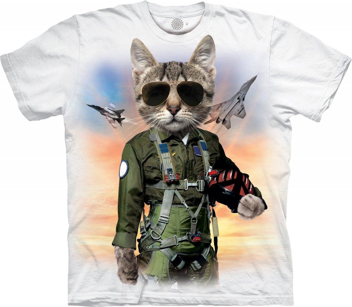2cc3680e32a1e0 Sklep veoevo.pl - Koszulki Malowane Pazurem - Tom Cat White - The ...