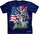 Wolf Flag - Koszulka The Mountain