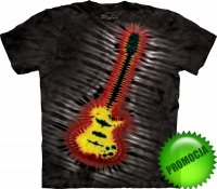 Tie-Dye Electric Guitar - Koszulka The Mountain