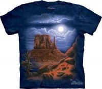 Desert Nightscape - The Mountain
