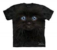 Black Kitten Face - The Mountain - Koszulka Dziecięca