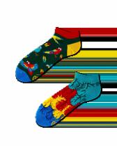 Paradise Parrot - Krátké Ponožky - Many Mornings